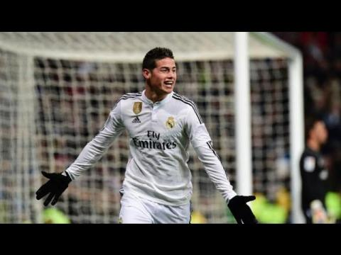 اهداف جيمس رودريغيز ال 17 مع ريال مدريد موسم 2014 /2015 HD