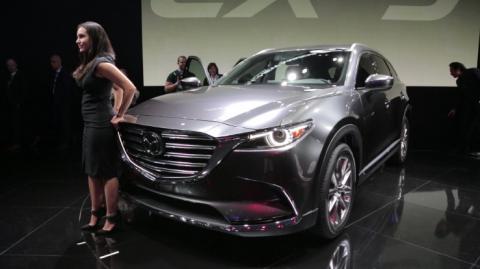2016 Mazda CX-9 - 2015 L.A. Auto Show