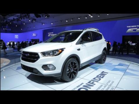 2017 Ford Escape - 2015 L.A. Auto Show