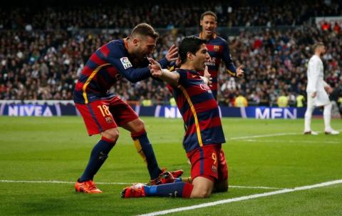 أهداف مباراة برشلونة 4 - 0 ريال مدريد  [شاشة كاملة] عصام الشوالي [HD720p]