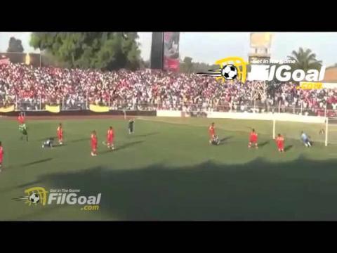 ملخص مباراة الزمالك وسانجا باليندي  1-0