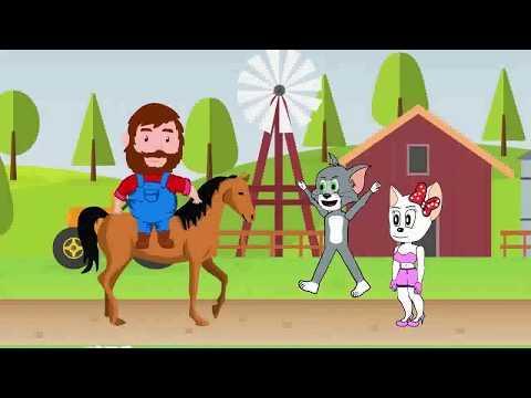 توم وجيري  - أفلام الرسوم المتحركة للأطفال - تجميع - جديد